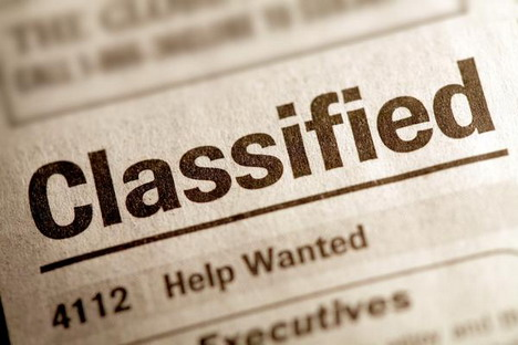 application of classifieds