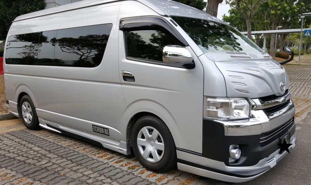 tour bus rental in Singapore